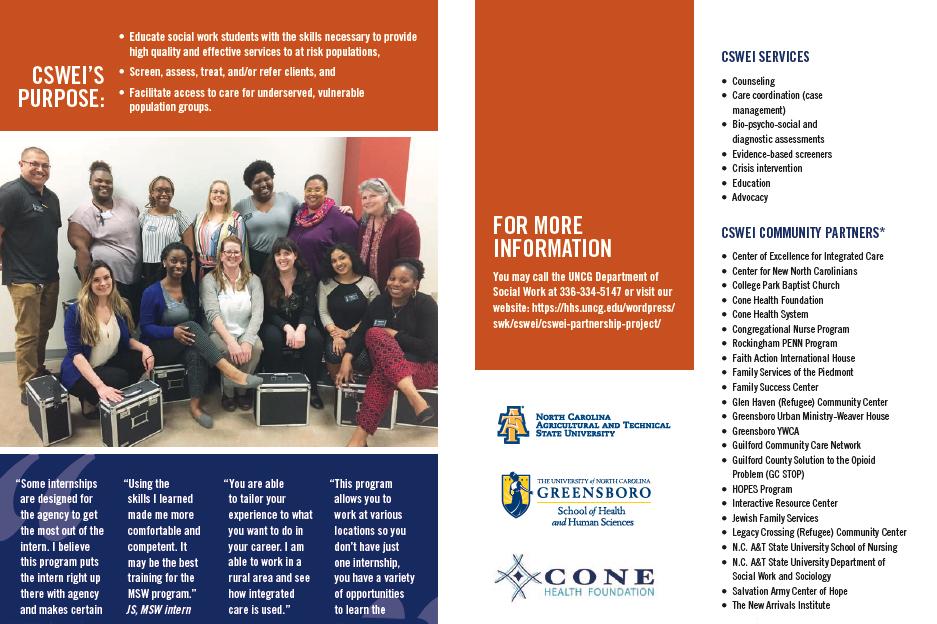 UNCG Congregational Social Work Education Initiative