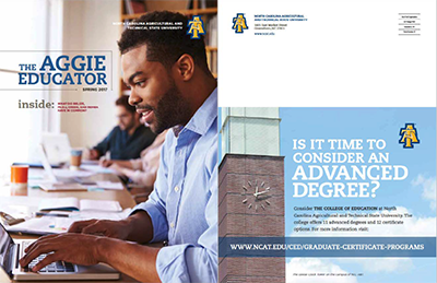NCA&T Aggie Educator - Article by Mary Coyne Wessling
